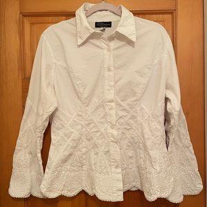 G. Designs Natural Fashions Button Shirt